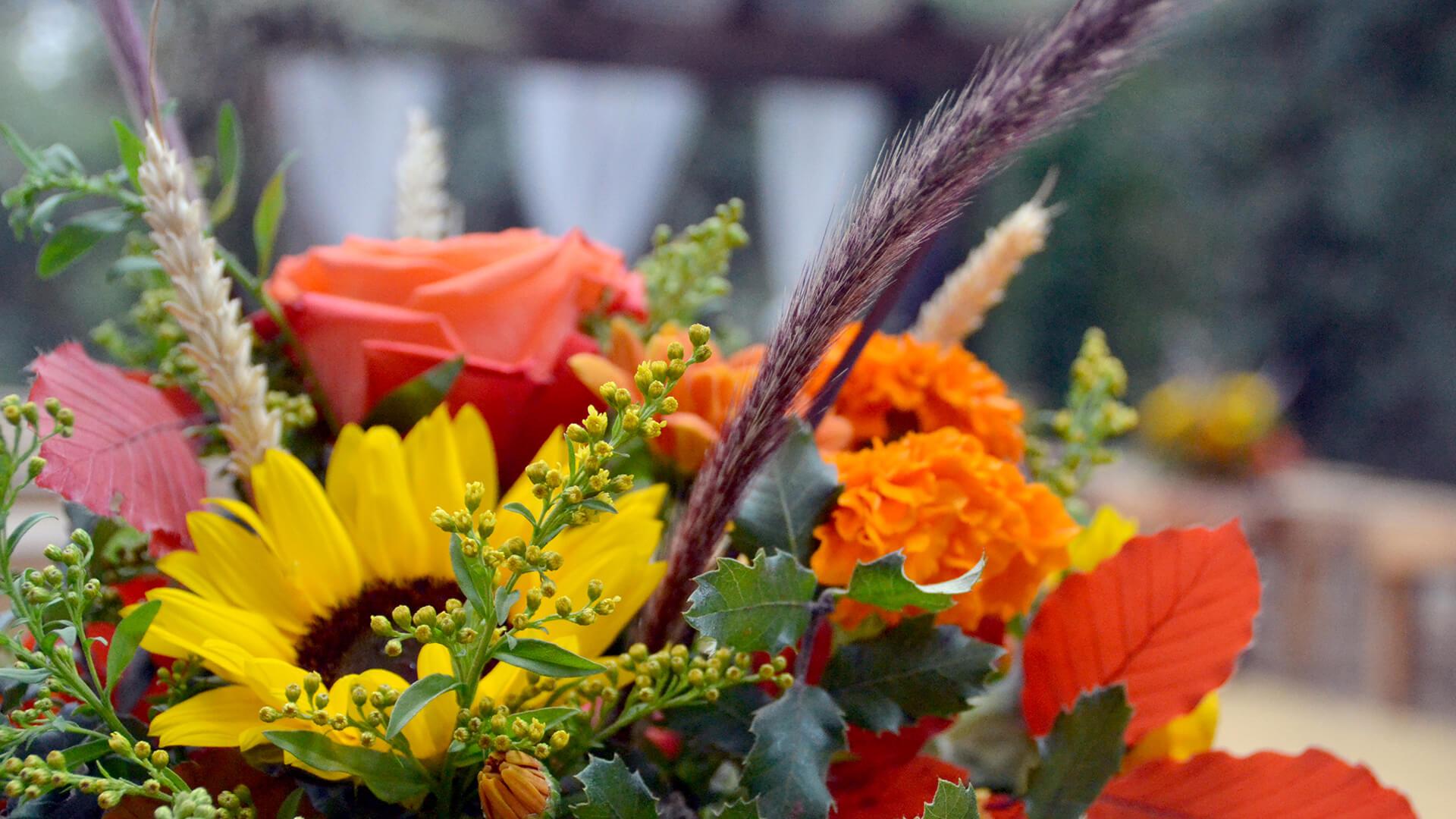 Treballs de floristeria